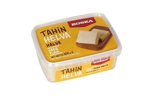 Koska Plain Halva Vanilla (400g)