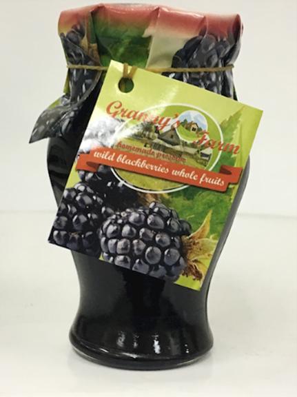 Granny's Farm Wild Blackberries Whole Fruit Preserve (245g)
