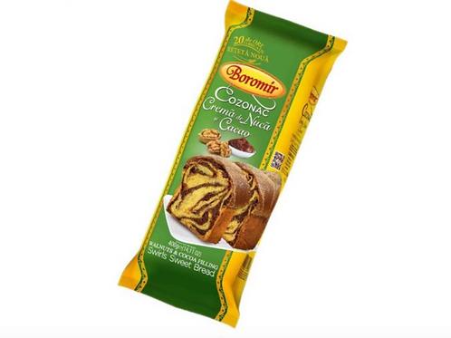 Boromir Cozonac Cocoa Cream & Walnuts (400g)