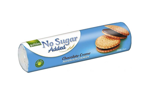 Gullon Sugar Free Chocolate Cream Sandwich Cookies (200g)