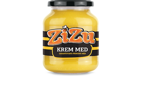 Zizu Creamed Honey w/ Sesame (460g)