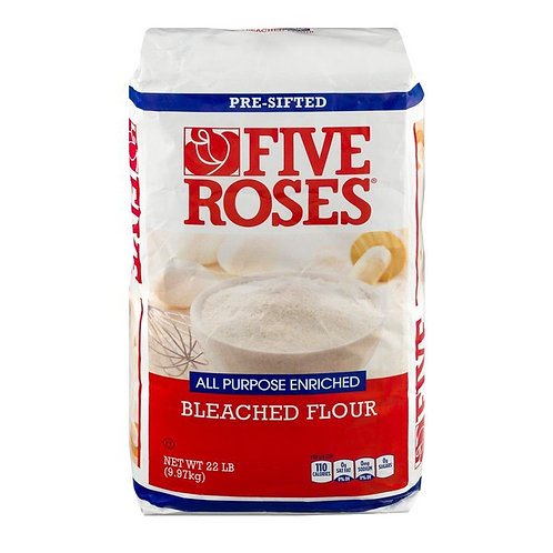 Five Roses Pre-Sifted Flour 22lb