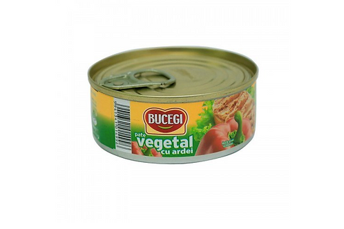 Bucegi Vegetarian Soy Pate w/ Peppers (100g)