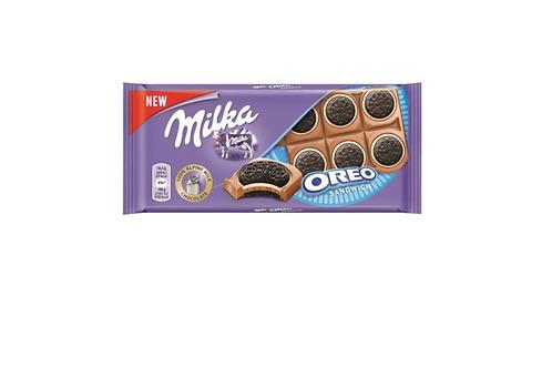 Milka Oreo Sandwich Chocolate (92g)