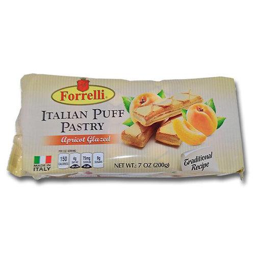 Forrelli Italian Apricot Glazed Puff Pastry (200g)