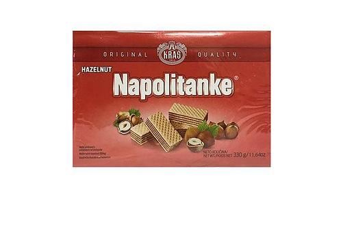 Kras Napolitanke Hazelnut Wafers (330g)