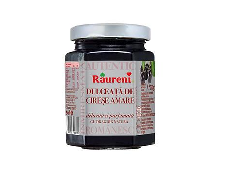 Raureni Bitter Cherry Preserve Dulceata de Cirese Amare (250g)