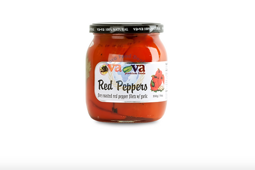 VaVa Fire Roasted Red Pepper Filets w/ Garlic