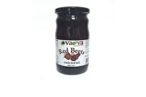 VaVa Red Beets Crunchy Sliced (720g)