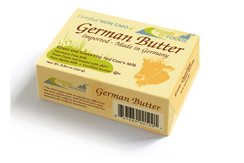Fond O Foods German Butter NON GMO