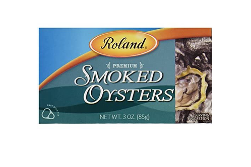 Roland Premium Smoked Oysters (85g)