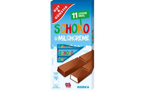G&G Milk Chocolate Coated Bar w/ Milk Cream Filling (200g)