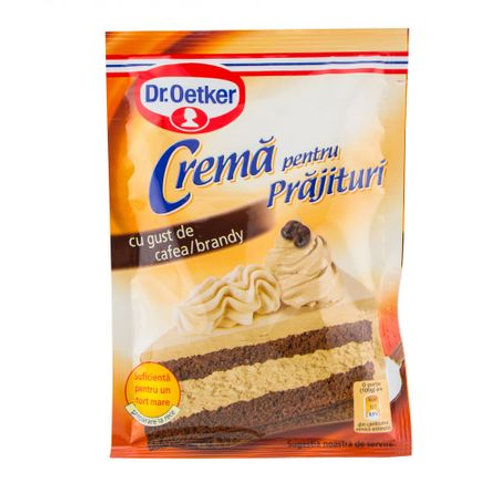 Dr. Oetker Cream Filling Mix Coffee/Brandy Flavor 50g