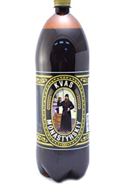 Kvas Monastyrskiy Non-Alcoholic Malt Beverage (2L)