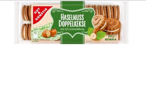 Edeka G&G Hazelnut Cream Cookies (250g)