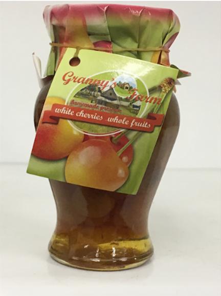 Grannys Farm White Cherries Whole Fruit Preserve (245g)