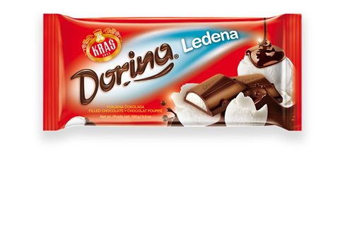 Kras Dorina Milk Chocolate w/ Ice Cream Filling (75g)