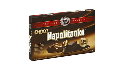 Kras Napolitanke Chocolate Covered Wafers (250g)