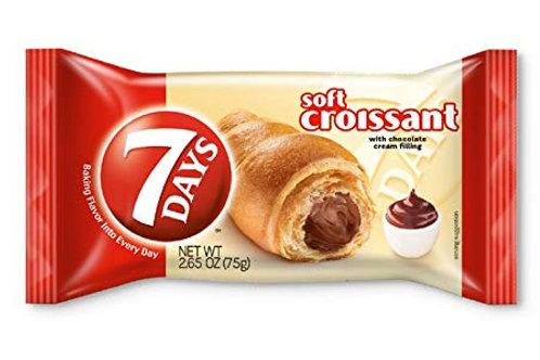 7Days Soft Croissant Chocolate Cream Individual (75g)