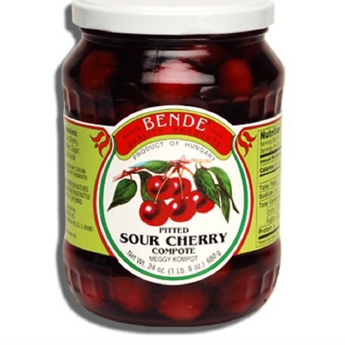 Bende Pitted Sour Cherry Compote (680g)