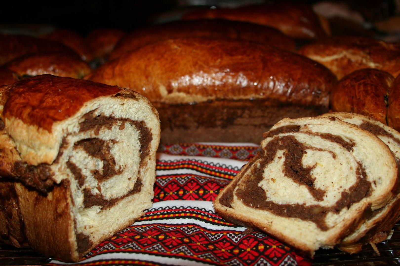 Traditional Sweet Bread (Cozonac)