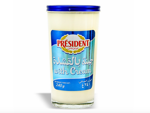 President Spreadable Cream Cheese (240g)