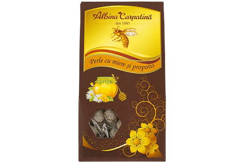 Albina Carpatina Honey Lozenges w/ Honey & Propolis (100g)