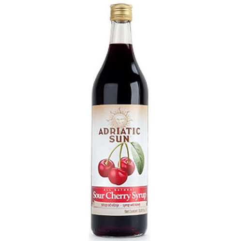 Adriatic Sun Sour Cherry Syrup 1L