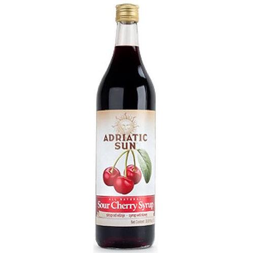 Adriatic Sun Sour Cherry Syrup 1L