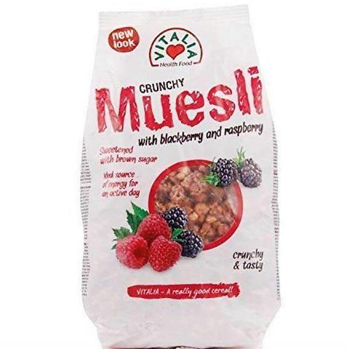 Vitalia Crunchy Muesli w/ Blackberry & Raspberry (320g)