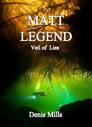 Matt Legend: Veil of Lies book cover