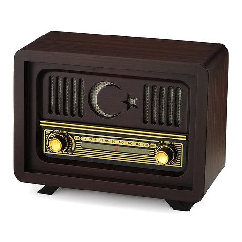 Ahşap Radyo Ayyıldız / Wooden Radio Ayyildiz