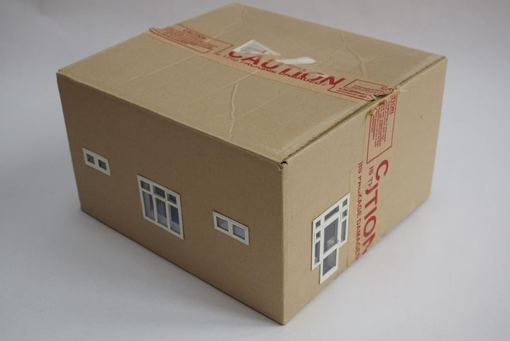 Is this package damaged? 1.25 scale model of my old classroom 2018