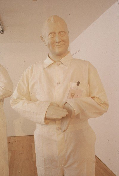 Congratulator Automated clapping mannequin