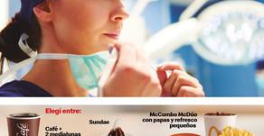McDonald's Uruguay y un gesto para el personal de la salud