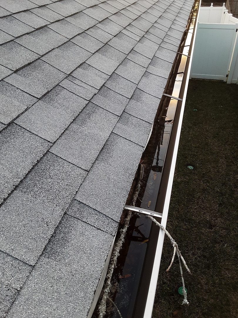 Pooling Gutters
