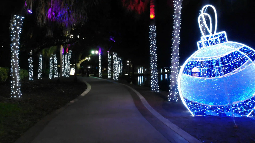 Lake Eola Christmas