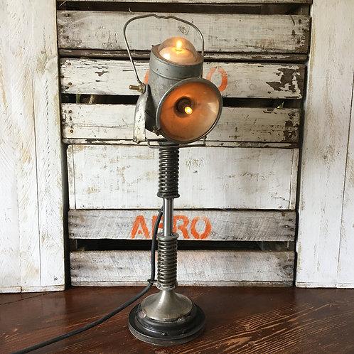 Vintage Industrial Lantern Lamp