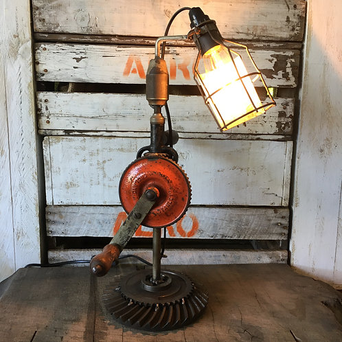 Vintage Drill Lamp (SOLD OUT)