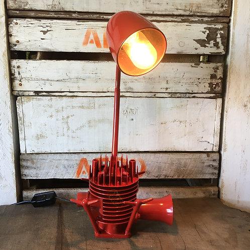 Vintage Lawn Mower Lamp