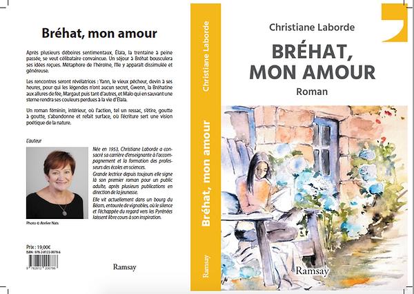 Bréhat, mon amour roman Christiane Laborde éditions Ramsay