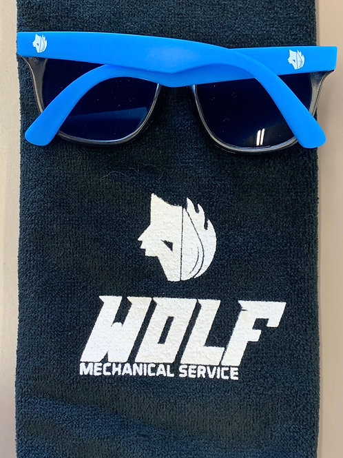 Blue Wolf Sunglasses
