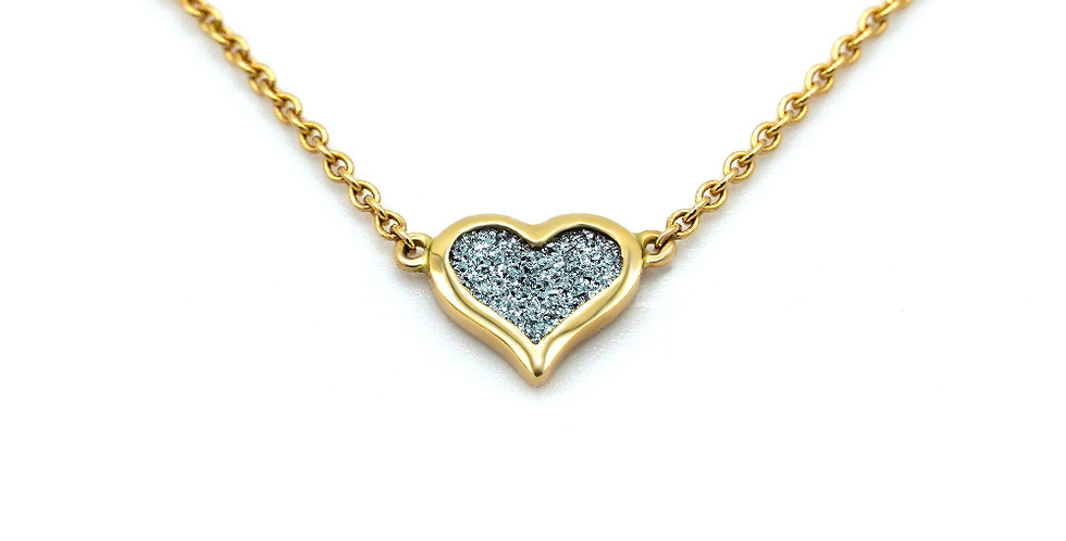 Collier Amour - Gold / Platin