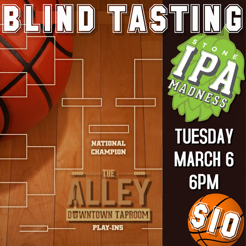 Stone IPA March Madness