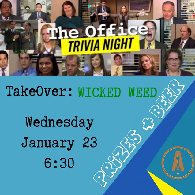 The Office Trivia  Wicked Weed Takeover