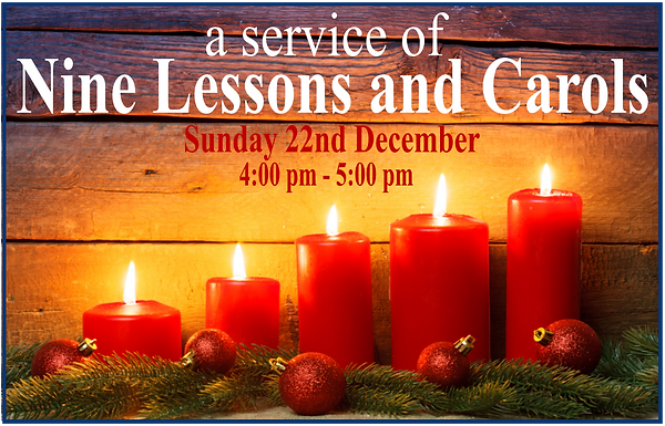 Nine Lessons and Carols Picture for Webs