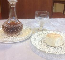 breaking of bread, communion, bread and wine, open brethren