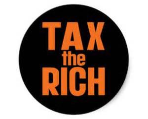 Levy Taxes On The Evil Rich