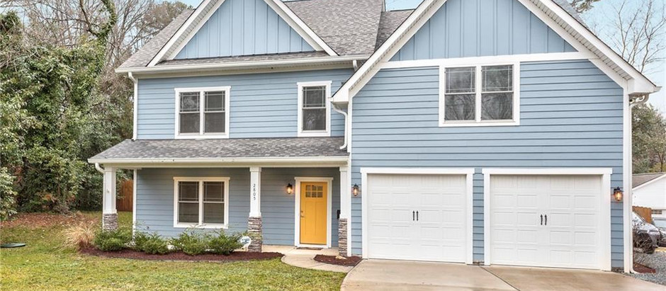 TOP 5 NEW & LIKE NEW HOMES IN 28205