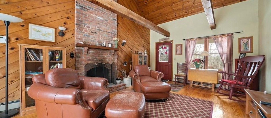 TOP 5 NEWLY LISTED HOMES FEATURING FIREPLACES